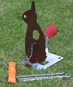 Rabbit Field Target  with cord,winder  and stakes